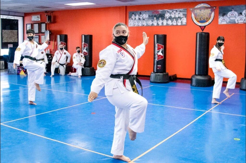 martial art training classes