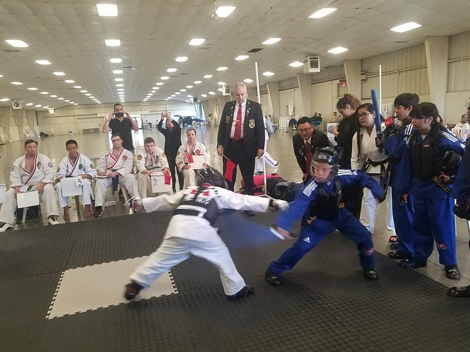 kids martial art training school